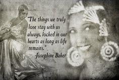 Beautiful vintage photos montage of Josephine Baker!