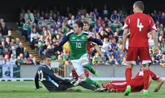 Kyle Lafferty is one of the strikers of Northern Ireland