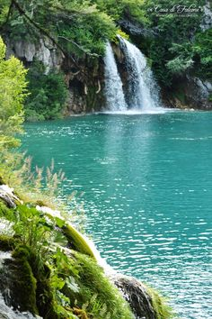 Croatia    Kroatien     Plitvička jezera   Casa di Falcone