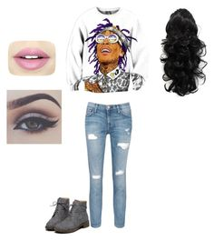 """""""wiz"""" by jada-aphrodite ❤ liked on Polyvore featuring Current/Elliott, Fiebiger and Bellezza"""