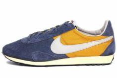 Nike Mens Pre Montreal Racer Gold Blue Grey 506192-740 Price: $60.00 www.brandicted.com/quiz/nike