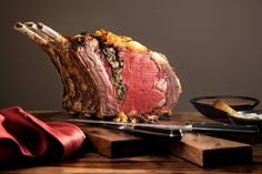 Stuffed Standing Rib Roast Recipe - NYT Cooking
