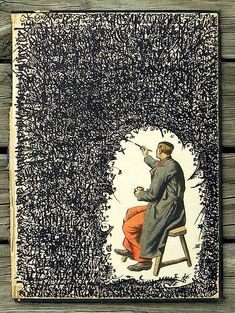 Federico Hurtado - art journal inspiration.