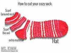 Ms Kimm Creates: Handmade Sock Snowmen Tutorial                                                                                                                                                                                 More