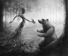 Mielikki_Kalevala_karhu