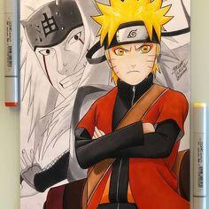Otaku Anime, Anime Naruto, Naruto Uzumaki Art, Wallpaper Naruto Shippuden, Naruto Kakashi, Naruto Sketch, Naruto Drawings, Tokyo Ghoul Manga, Dope Art