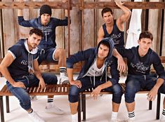 Adam Senn & Crew are Ready to Sweat for Dolce & Gabbanas Fall 2012 Gym Lookbook