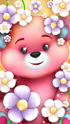 Free Wallpaper Backgrounds, Bear Wallpaper, Cute Backgrounds, Love Wallpaper, Pretty Wallpapers, Disney Wallpaper, Bear Images, Teddy Bear Pictures, Cellphone Wallpaper