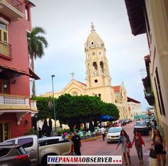 Casco Viejo - Panama. Free to use with a link to: http://thepanamaobserver.com/ciudad/fotos-ciudad/  Uso Gratis con enlace a nuestro sitio web