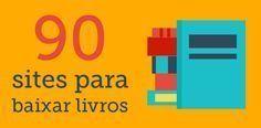Preparamos uma lista com 90 sites para você passar horas lendo Portuguese Grammar, Portuguese Lessons, I Love Books, Books To Read, My Books, Coaching, Literary Quotes, Always Learning, Study Motivation