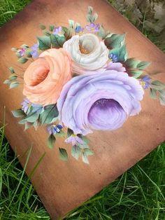 Trendy ideas flowers roses painting one stroke Flower Tattoo Back, Flower Tattoos, Flower Garden Plans, Flowers Garden, Wedding Colors, Wedding Flowers, Boquette Wedding, One Stroke Painting, Art Background