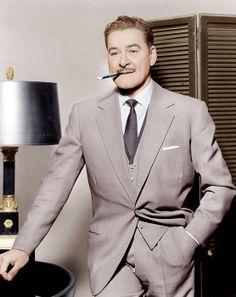 Errol Flynn Canvas Art - x Old Hollywood Movies, Golden Age Of Hollywood, Hollywood Style, Classic Hollywood, Fashion Quotes, Fashion Advice, Fashion Ideas, Fashion Hats, Fashion Rings