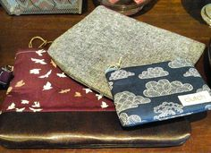 Cutest bags ever in several fun patterns! Perfect Christmas gifts! A. ell atelier