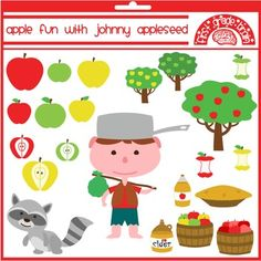 Apple Fun with Johnny Appleseed $5