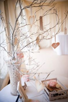 Lovely wish tree. (Write down encouragements for the couple!!)