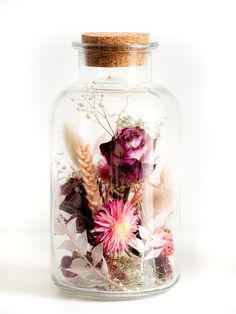 Dried Flower Bouquet, Dried Flowers, Flowers In Jars, Diy Crafts Hacks, Bohemian Decor, Flower Decorations, Planting Flowers, Flower Arrangements, Creations