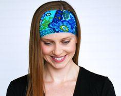 Yoga headband workout headband Running by WildandFreeFashion