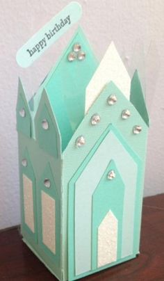 Frozen ice castle by CAR372 - Cards and Paper Crafts at Splitcoaststampers