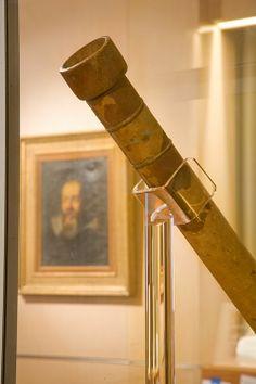 Firenze - Museo Galileo, Istituto e Museo di Storia della Scienza - Telescopio di Galileo