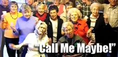 Nursing Home Residents Sing Call Me Maybe! :: Hilarious! http://sonnyradio.com/nursing-home-residents-perform-call-me-maybe.html