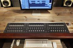 Making the Mix Room: Sondhus Builds Private Studio for Paul Savoy of A-ha — SonicScoop Home Studio Desk, Loft Studio, Home Studio Music, Studio Furniture, Studio Room, Studio Layout, Art Studio Design, Studio Setup, Studio Ideas