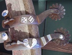 SPURS MADE BY CHARLES WENDT