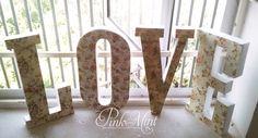 L.O.V.E by Pink&Mint