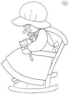 蘇婆婆壁飾紙型-韓國版 @ 滿不思議的手作 :: 痞客邦 PIXNET ::