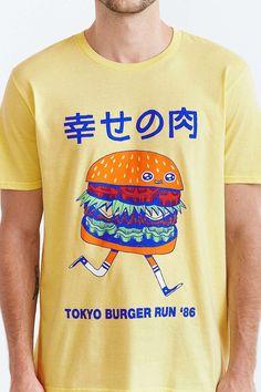 Threadless Tokyo Burger Run Tee