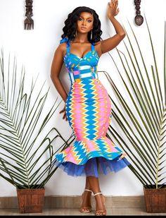 African Fashion Ankara, Latest African Fashion Dresses, African Print Fashion, African Print Skirt, African Print Dresses, African Dresses For Women, African Attire, African Traditional Wear, Kente Dress