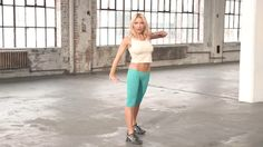 """Tracy Anderson 5 minute Dance Cardio Workout it's an exclusive sneek peek into her newly launched Cardio Dance workout Dvd """"Unleash your Inner Pop Star"""" workout video she breaks down her dance moves step by step! Come take a look Entraînement Tracy Anderson, Tracy Anderson Workout, Fitness Tips, Fitness Motivation, Health Fitness, Squat, Yoga, Workout Videos, Workout Fun"""
