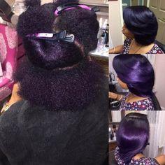 This color is so pretty by Atlanta Stylist @iamsheenarenee #voiceofhair voiceofhair.com