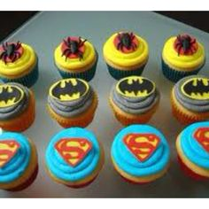 Super Hero Cupcake ideas