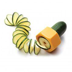 Monkey Business Gemüseschneider Cucumbo gelb   design3000.de