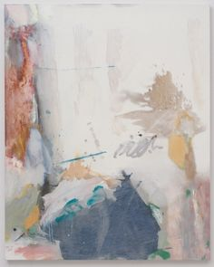 Untitled ( White page, writing III ) by Caitlin Lonegan | artsy forager #art #paintings #abstract