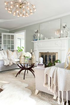 Romantic Livingroom   interior design   wehearthome.de