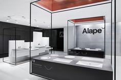 Copper black and white interior.