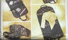 Butterick Sewing PATTERN: Travel Bags  by CoastalCrochetCrafts