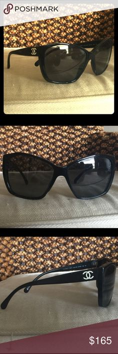 Chanel sunglasses Used few minor scratches on the lenses CHANEL Accessories Sunglasses