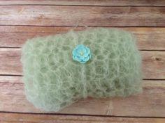 Newborn Wrap Set Newborn Mint Mohair Wrap Set Mint by BabyLoveUK, £18.00