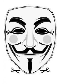 Printable Masks – Anonymous Worldwide