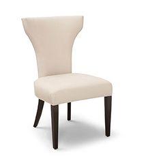 Robert Allen - Sophia Side Chair.  $1355 retail / $813 net in standard finish + 2 yds fabric