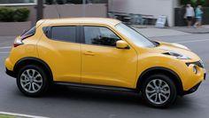 Nissan Juke Yellow 2015