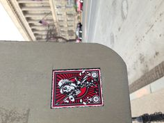 Nifty sticker in #WashingtonDC #streetart #graffiti for more visit http://justchuckinit.com