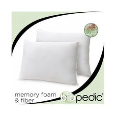 Memory Foam Pillow (Set of 2) Full/Queen. The Best Therapeutic Firm Comfort Solution for Sleep Guaranteed. These Pillows Bring Much Needed Rest and Relaxation to Your Home Bedroom Helping You Wake up Feeling Amazing. Grab These Sets Today. BioPEDIC http://www.amazon.com/dp/B00MNRUYFO/ref=cm_sw_r_pi_dp_UEnkub18KEM4D