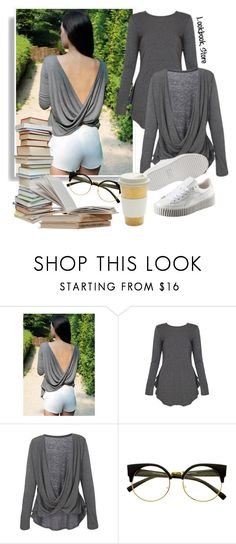 """Sexy Librarian!"" by lookbookstore ❤ liked on Polyvore featuring Puma"
