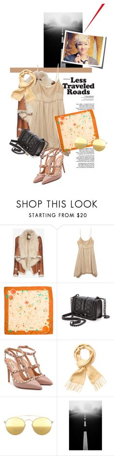 """""""fall everythin, i will hold u in the cold"""" by anazish ❤ liked on Polyvore featuring Mason by Michelle Mason, Wet Seal, Hermès, Rebecca Minkoff, Valentino, Yves Saint Laurent and Mykita"""