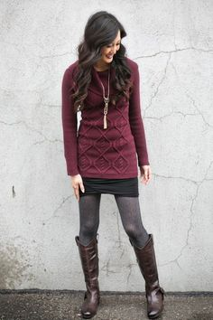 Golf Outfit S Women Like this comfortable and cute yet casual look. (Hot Mama official site: women's clothing for moms) Fall Winter Outfits, Autumn Winter Fashion, Look Fashion, Womens Fashion, Fashion Trends, Fashion Quiz, Fashion 2016, 70s Fashion, Korean Fashion