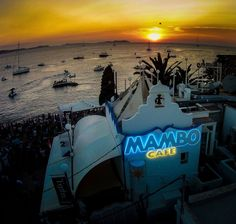 Sunset at Cafe Mambo Ibiza