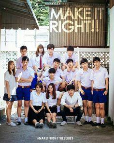 [태국 BL 드라마] Make it right - 출연진 다함께 무작위 짤털 (추가) : 네이버 블로그